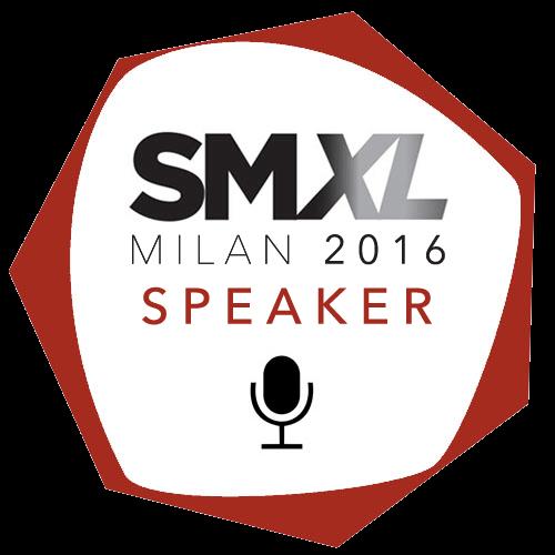 Sarò Speaker all'SMXL 2016
