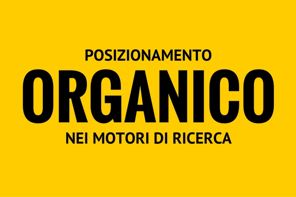 organico nei motori di ricerca