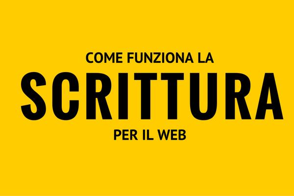 scrittura per il web