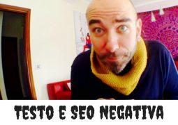 SEO Negativa e testo copiato