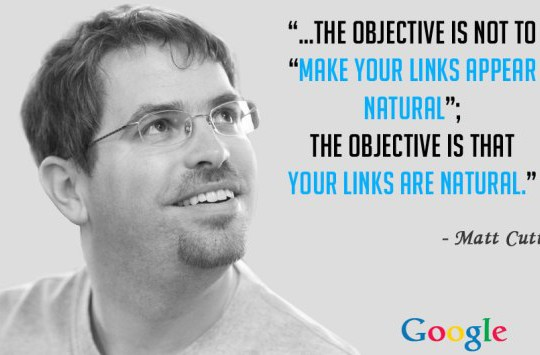link building matt cutts