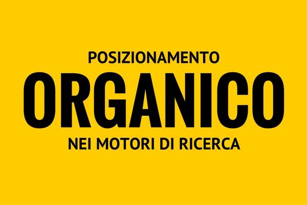 posizionamenro organico nei motori di ricerca