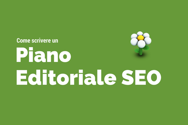 piano editoriale seo