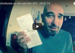 come strutturare un sito web lato seo