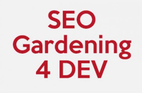 seo gardening 4 dev