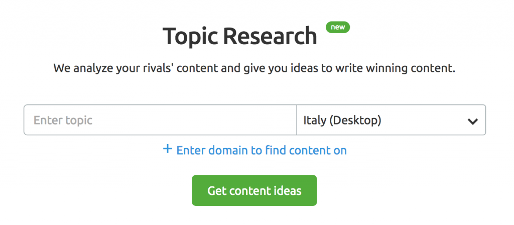 topic research tool